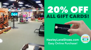 Hawley Lane Shoes 20 Off Gift Card