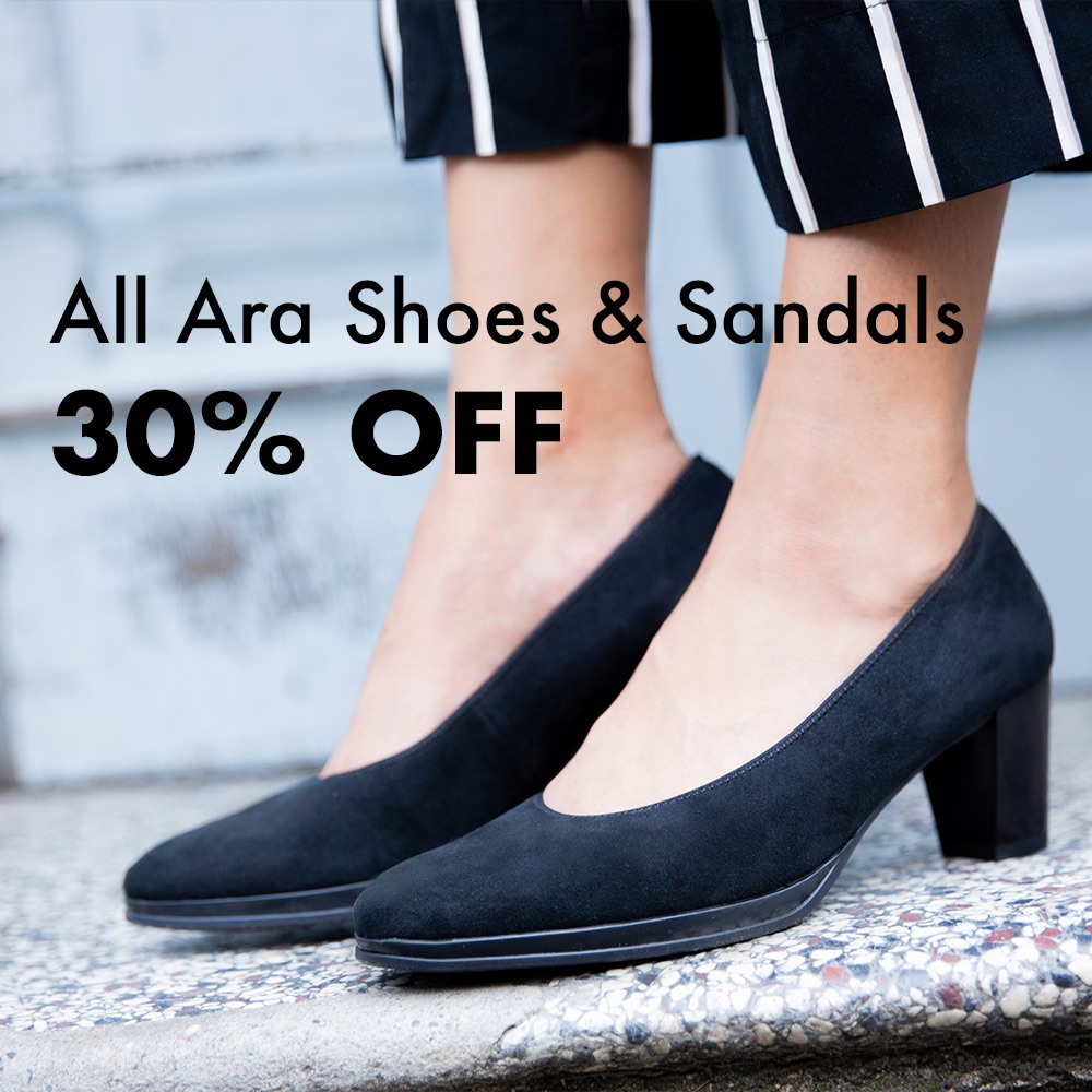 Ara Shoes and Sandals 30% Off