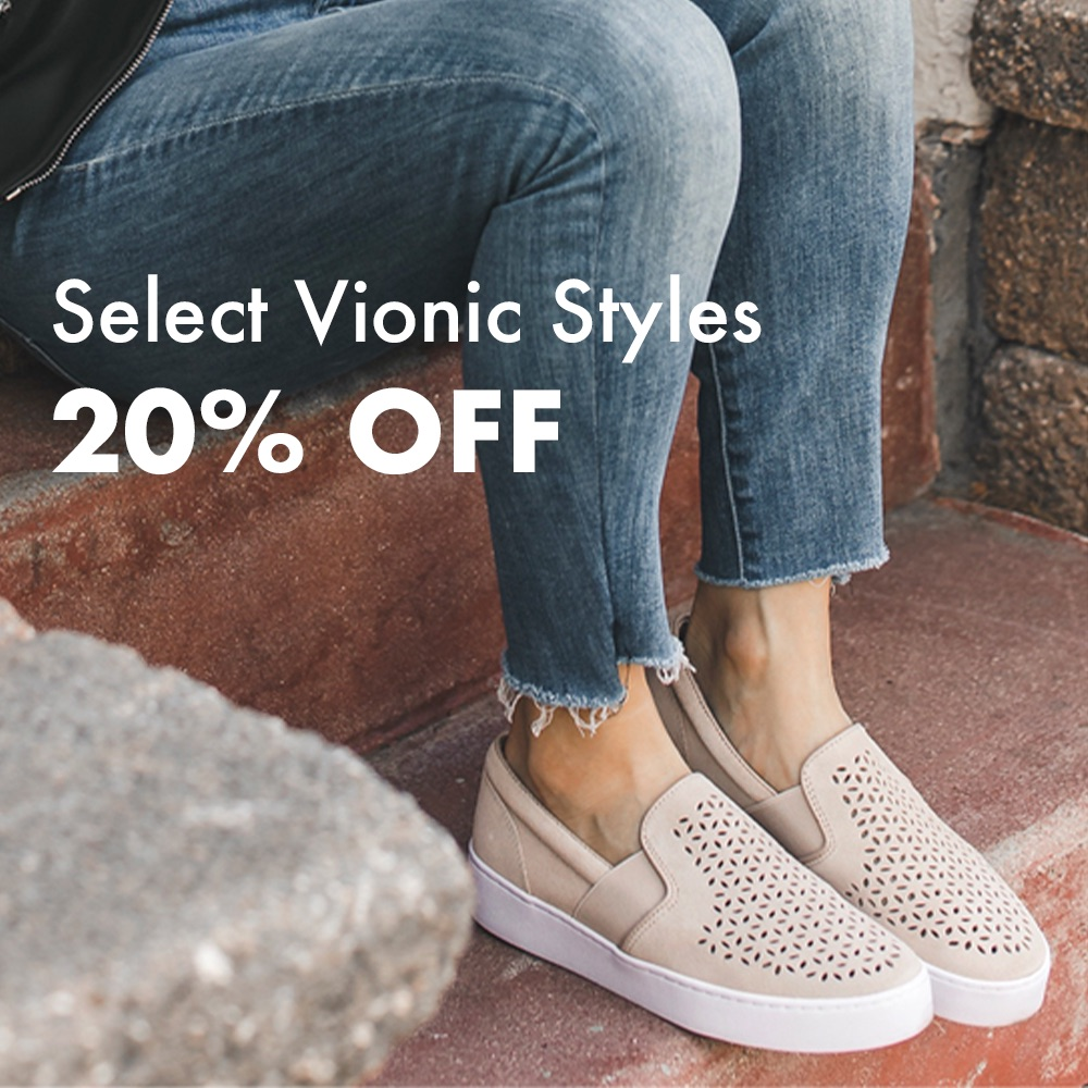 Select Vionic Styles 20% Off