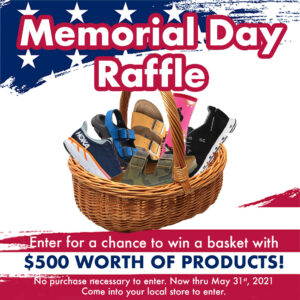 Memorial Day Raffle: Hawley Lane Shoes, CT
